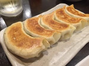 自家製デカイ焼き餃子