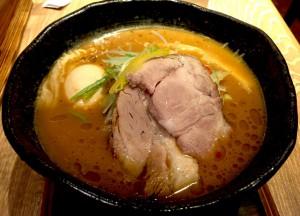 頂上味噌麺 味玉入り