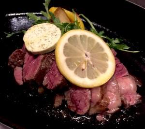 熟成肉リブロースステーキ