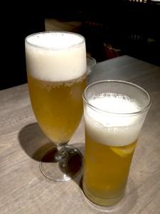 ビール、レモネードビア