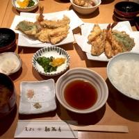 揚げたての天ぷらを美味しく頂けました♪ちょっと贅沢ランチで老舗の味を堪能!天ぷら船橋屋新丸の内ビル店。