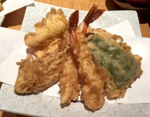 Aランチ天ぷら