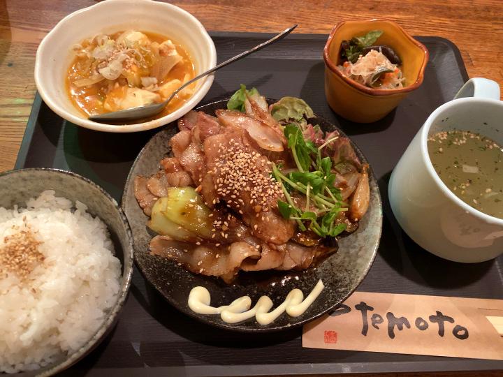豚バラ肉生姜焼